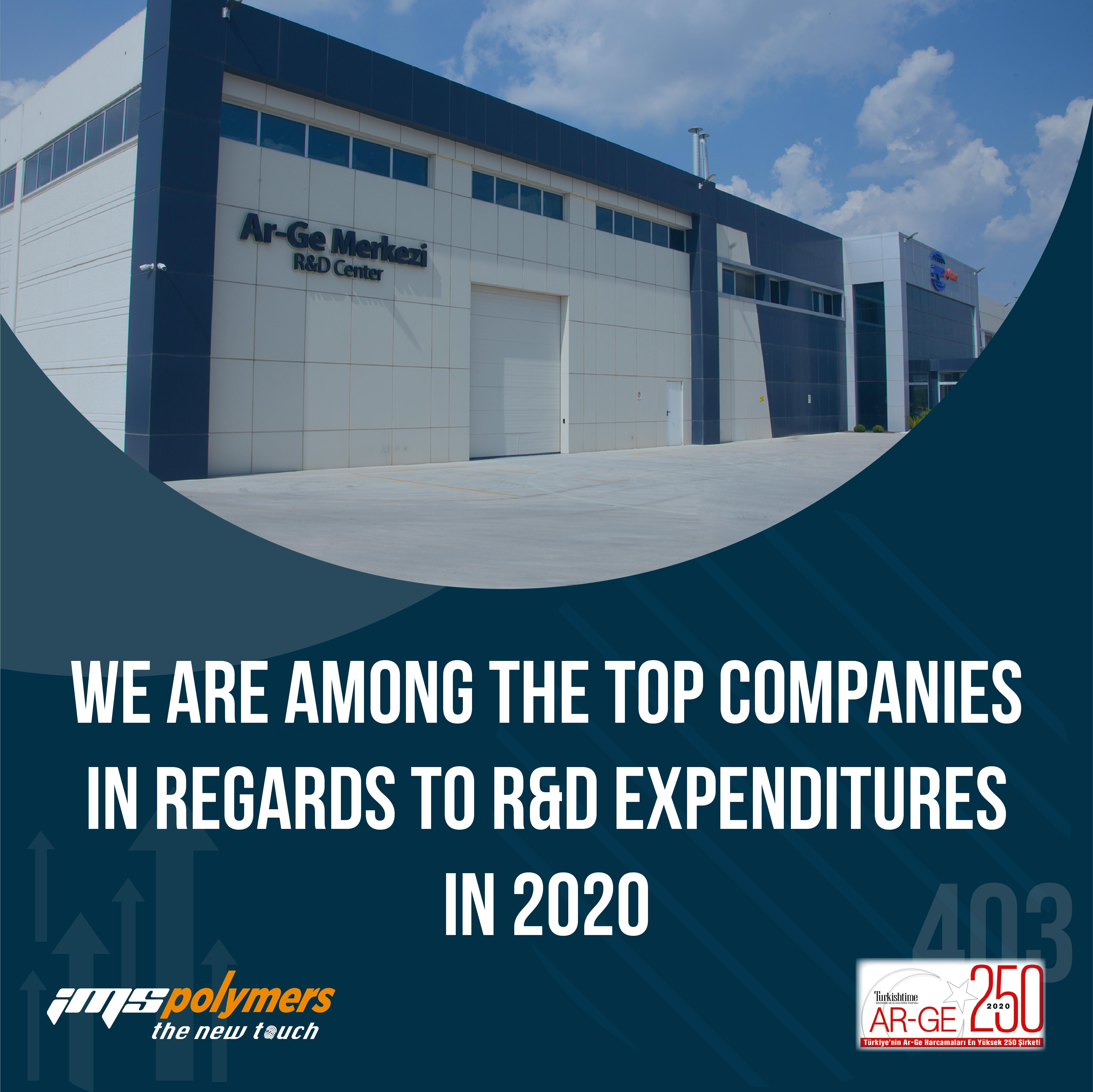 The Results of the Research for Turkey's Top Companies in regard to R&D Expenditure