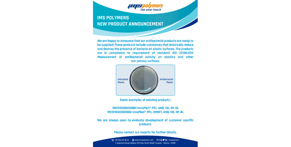 Annoucement of New Product Range : Antibacterial Compounds