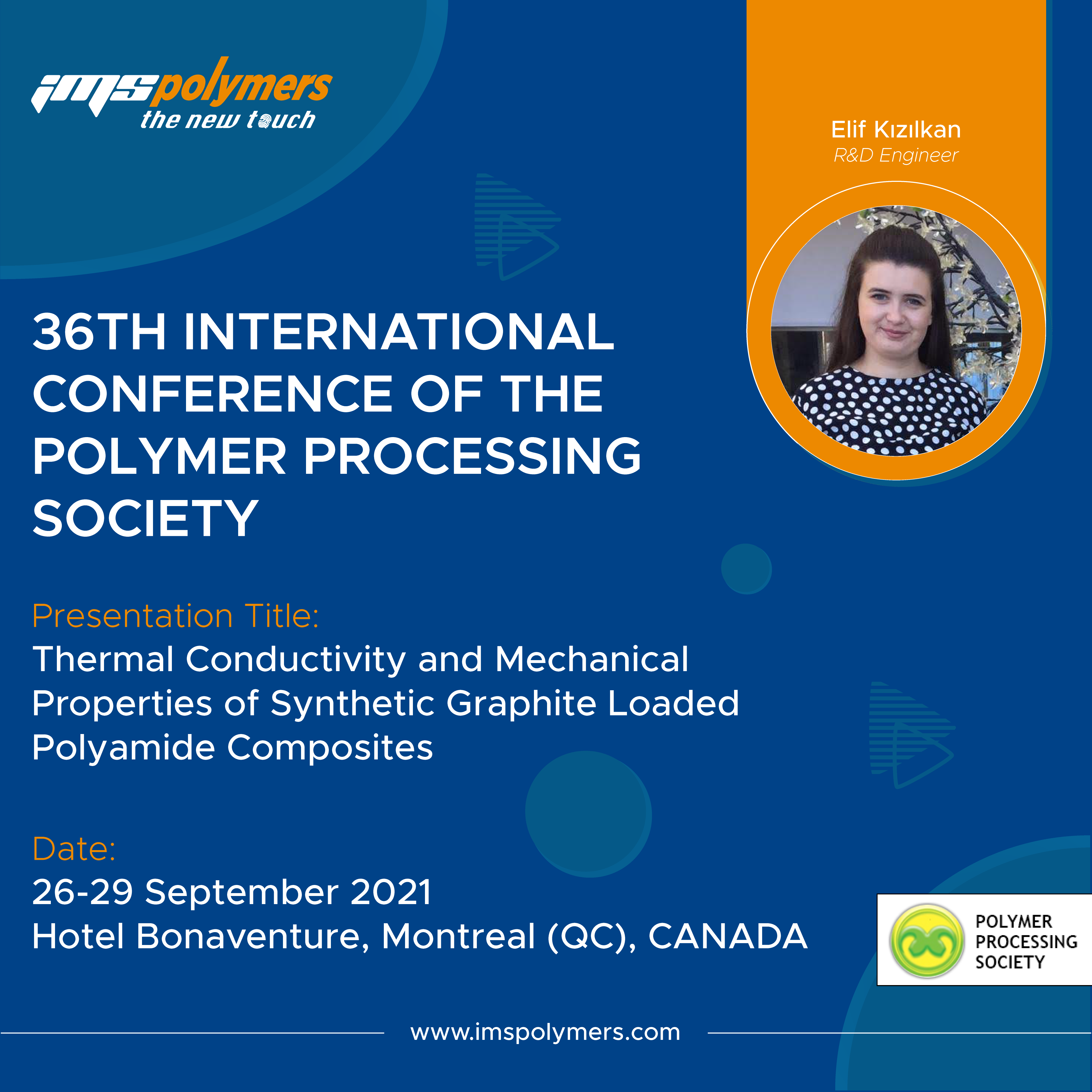 36th International Conference of the Polymer Processing Society