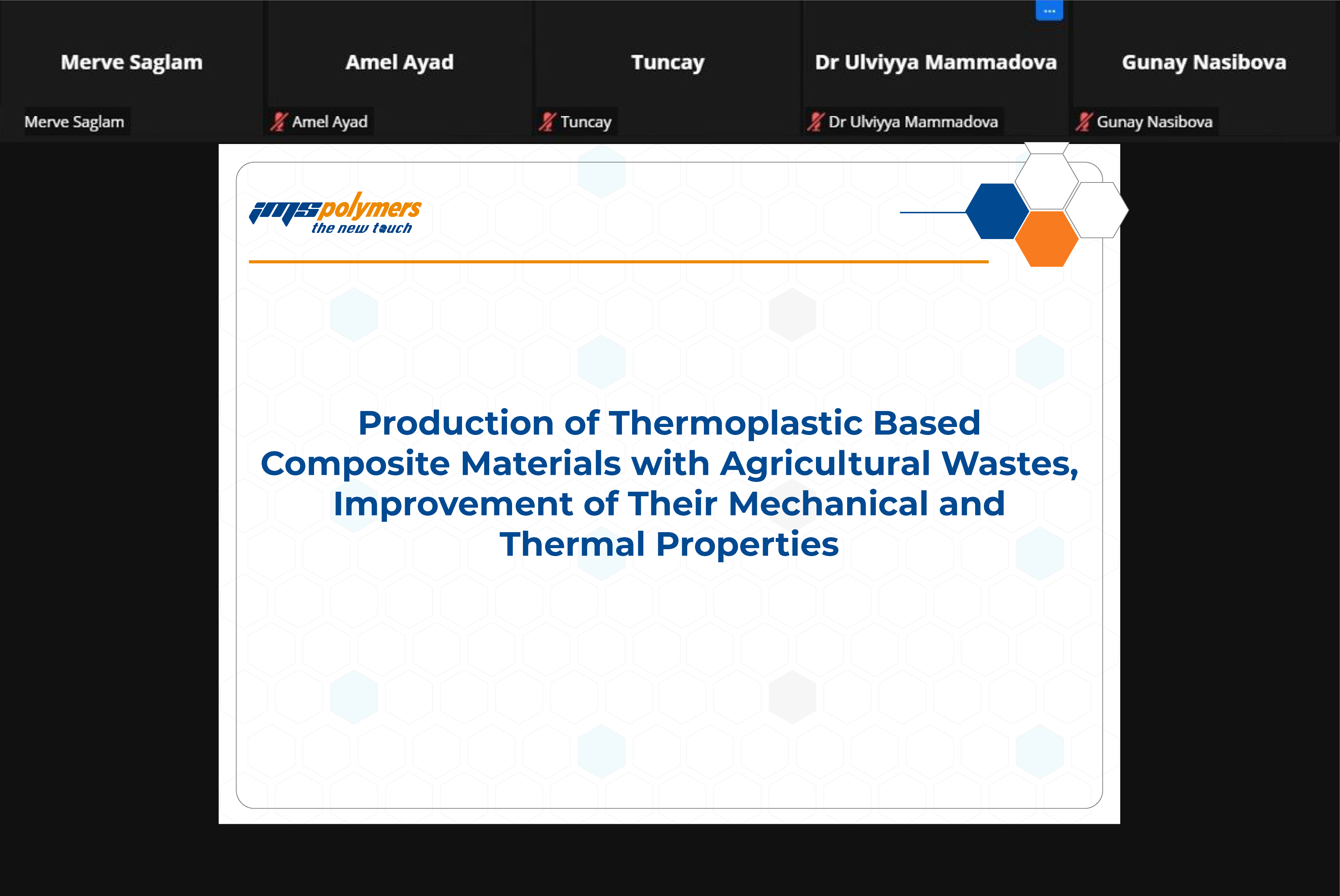 Termofiziksel Özellikler ve Enerji Sistemleri (THERMAM) Konferansına Katıldık